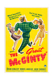 THE GREAT MCGINTY, US poster art, 1940. Prints