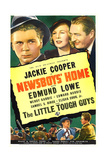 NEWSBOYS' HOME, US poster art, top from left: Jackie Cooper, Wendy Barrie, Edmund Lowe, 1938 Prints