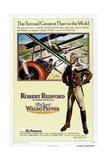 THE GREAT WALDO PEPPER, US poster, Robert Redford, 1975 Premium Giclee Print