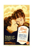MAN'S CASTLE, from left: Spencer Tracy, Loretta Young on midget window card, 1933. Prints