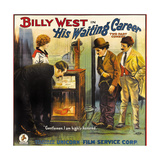 HIS WAITING CAREER, second from right: Billy West, 1916 Prints