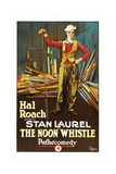 THE NOON WHISTLE, Stan Laurel, 1923. Print