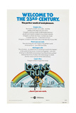 LOGAN'S RUN, US advance poster, Michael York, Jenny Agutter, 1976 Art