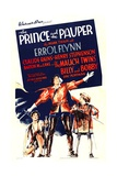 THE PRINCE AND THE PAUPER, center: Errol Flynn, 1937. Prints