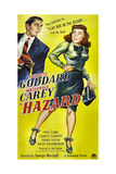 HAZARD, US poster, from left: Macdonald Carey, Paulette Goddard, 1948 Prints