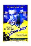THE CAPTIVE HEART, British poster, Michael Redgrave, Rachel Kempson, 1946 Prints