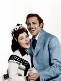 SHOW BOAT, from left: Kathryn Grayson, Howard Keel, 1951 Photo