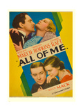 ALL OF ME Plakater