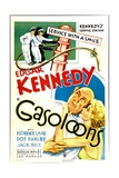 GASOLOONS, bottom from left: Edgar Kennedy, Florence Lake, 1936 Poster