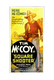 SQUARE SHOOTER, Tim McCoy, 1935. Prints
