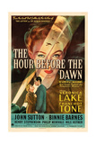 THE HOUR BEFORE THE DAWN, Veronica Lake, 1944 Posters