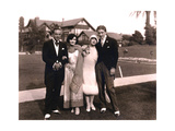 At the Beverly Hills wedding of Mae Murray and David Mdivani Prints