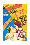 A FREE SOUL, from left on US poster art: Leslie Howard, Norma Shearer, 1931 Posters