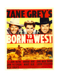 BORN TO THE WEST [aka HELL TOWN], John Wayne, Marsha Hunt, Johnny Mack Brown, 1937 Art