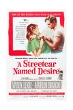 A STREETCAR NAMED DESIRE, Vivien Leigh, Marlon Brando, 1951. Plakát