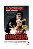 BLACULA, US poster, William Marshall, 1972. Plakaty