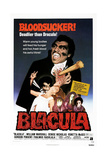 BLACULA, US poster, William Marshall, 1972. Poster