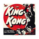 KING KONG, jumbo window card, 1933. Plakat