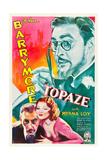 TOPAZE, John Barrymore, Myrna Loy, 1933 Prints