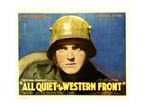 ALL QUIET ON THE WESTERN FRONT, Lew Ayres, 1930. Prints