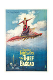 THE THIEF OF BAGDAD,  Douglas Fairbanks, Sr., Julanne Johnson, 1924 Prints