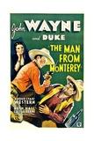 THE MAN FROM MONTEREY, Ruth Hall, John Wayne, Luis Alberni, 1933 Prints