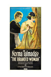 THE BRANDED WOMAN, right: Norma Talmadge, 1920. Art