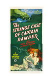 THE STRANGE CASE OF CAPTAIN RAMPER, US poster art, 1927 Print