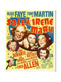 SALLY, IRENE AND MARY Affiche