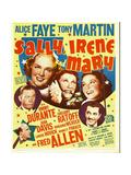 SALLY, IRENE AND MARY Print