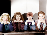 LITTLE WOMEN, from left: Joan Bennett, Jean Parker, Katharine Hepburn, Frances Dee, 1933 Posters