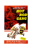 HOT ROD GANG, poster art, 1958 Prints