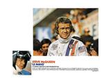 LE MANS, Steve McQueen, 1971. Art