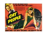 Cat People, Jane Randolph, Kent Smith, Simone Simon, 1942 Posters