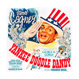 YANKEE DOODLE DANDY, US poster, James Cagney, 1942 Prints