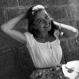 Anouk Aimee, 1953 Photographie