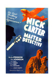 NICK CARTER, MASTER DETECTIVE, US poster art, from left: Walter Pidgeon, Rita Johnson, 1939 Art