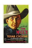 TEXAS CYCLONE, Tim McCoy, 1932. Art