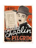 THE PILGRIM, Charles Chaplin, (aka Charlie Chaplin), 1923 Print