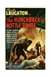 THE HUNCHBACK OF NOTRE DAME, 1939, poster art Prints