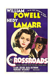 CROSSROADS, Hedy Lamarr, William Powell, 1942 Prints