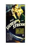 SILVER STREAK, from left: Charles Starrett, Sally Blane, 1934. Art
