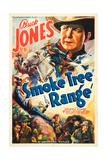 SMOKE TREE RANGE, Buck Jones, 1937. Art