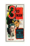 THE THIRD MAN, l-r: Alida Valli, Joseph Cotten on US poster art, 1949 Posters