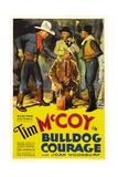 BULLDOG COURAGE, far left: Tim McCoy, 1935. Prints