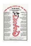 CABARET, US poster, Liza Minnelli, 1972 Prints