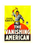 THE VANISHING AMERICAN, Richard Dix on window card, 1925 Posters