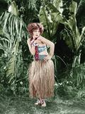 HULA, Clara Bow, 1927 Photo