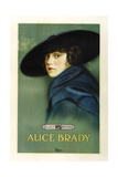 Alice Brady on 1918 promotional poster art Posters