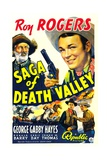 SAGA OF DEATH VALLEY, top from left: George 'Gabby' Hayes, Roy Rogers, 1939. Print